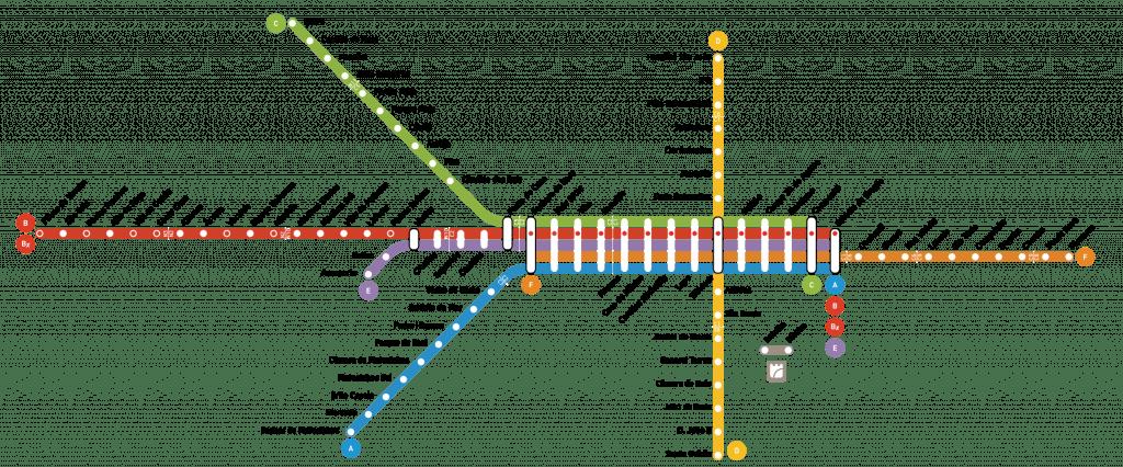Cómo moverse por Oporto: metro