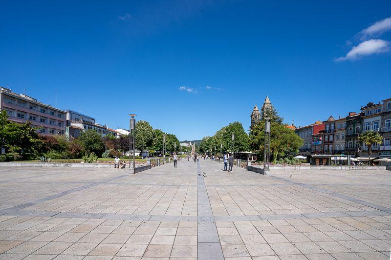 Qué ver en Braga: praça da República