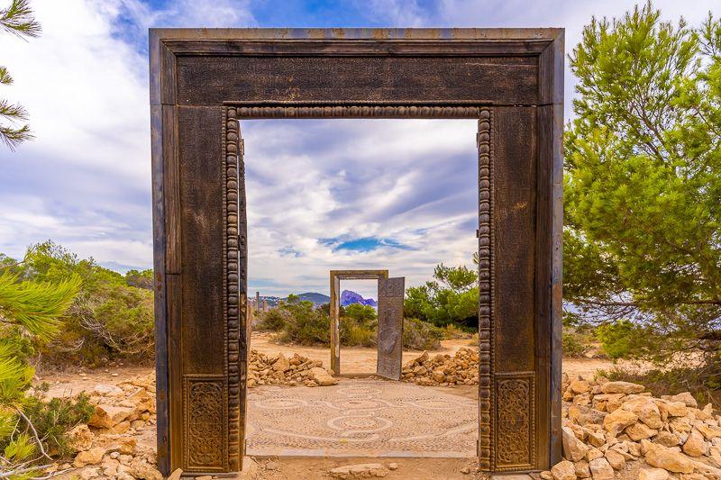 Qué ver en Ibiza: Puertas Can Soleil