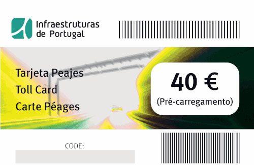 Cómo pagar los peajes en Portugal: TOLLCard de 40 euros