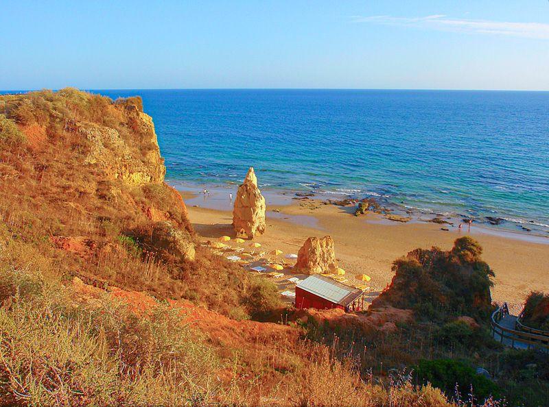 Qué ver en Portimao: Praia dos Tres Castelos