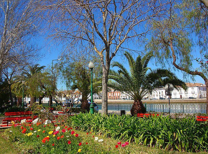 Qué ver en Tavira: Jardim Público de Tavira