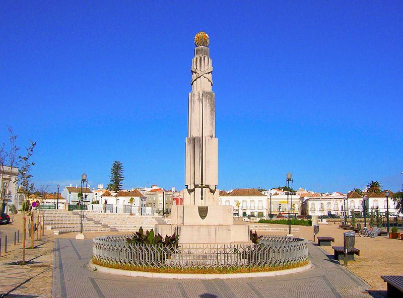 Qué ver en Tavira: praça da República