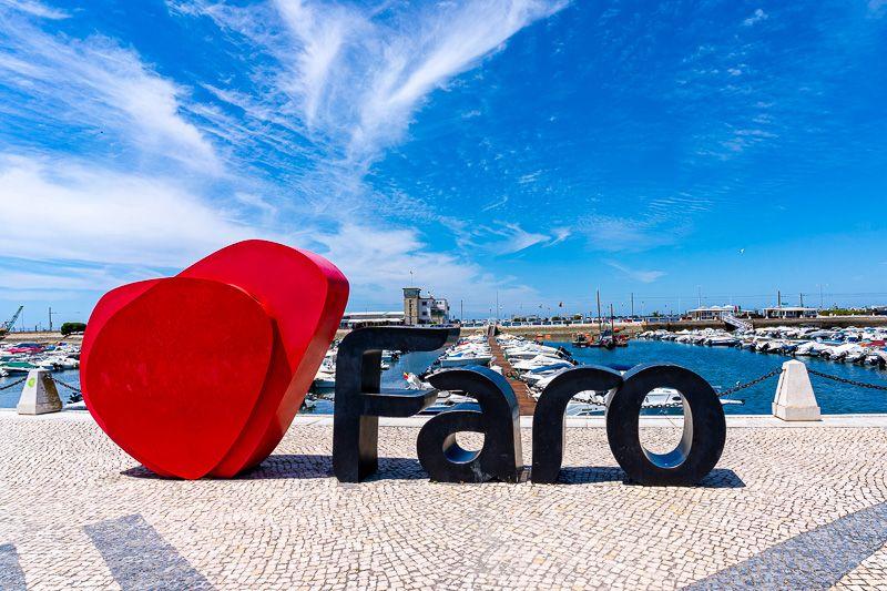 Qué ver en Faro: Marina de Faro