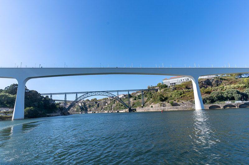 Crucero de los seis puentes por el Douro en Oporto: Ponte Sao Joao