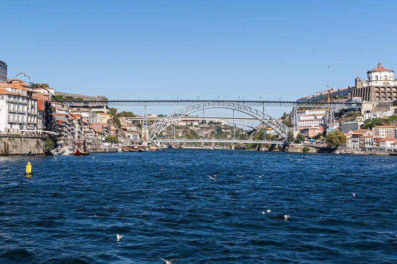 Crucero de los seis puentes por el Douro en Oporto: Ponte Dom Luis
