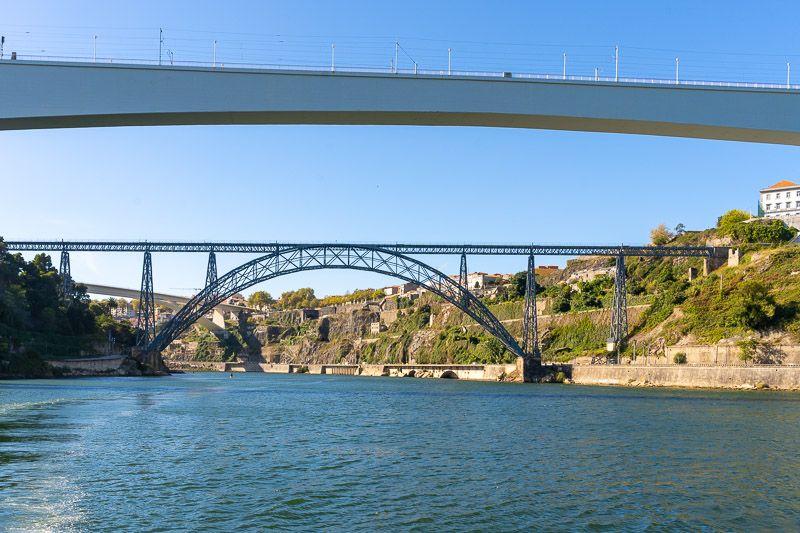 Crucero de los seis puentes por el Douro en Oporto: Ponte Maria Pia