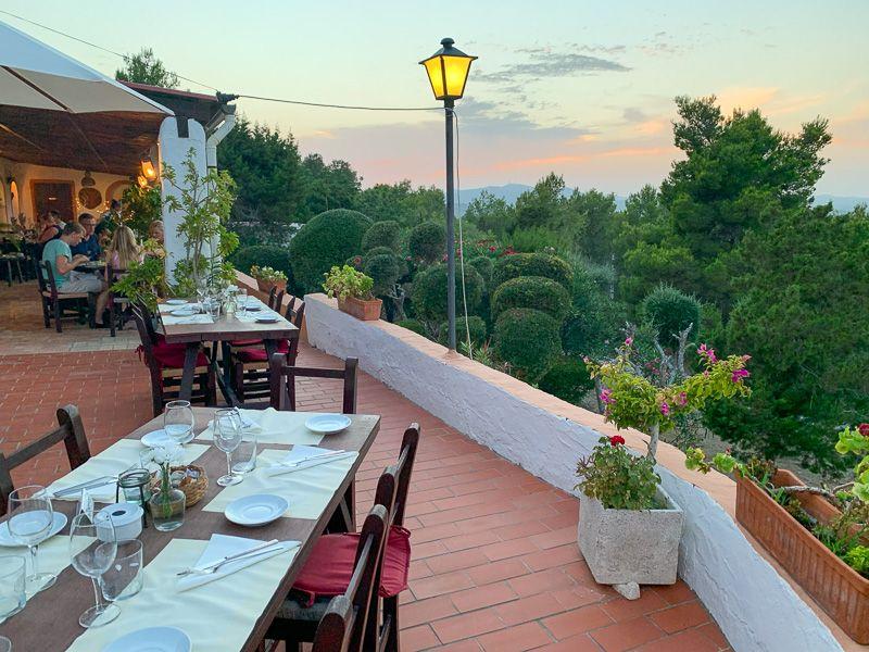 Dónde comer en Ibiza: Sa Finca