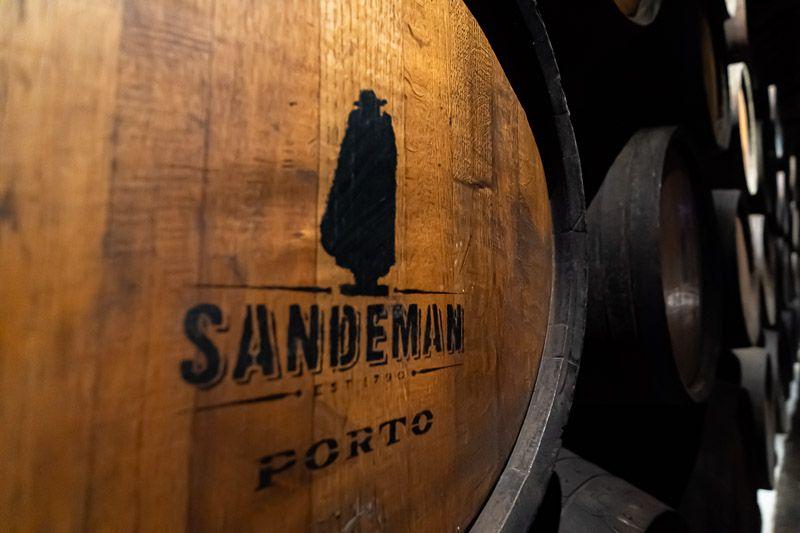 Visitar una bodega en Oporto: Sandeman