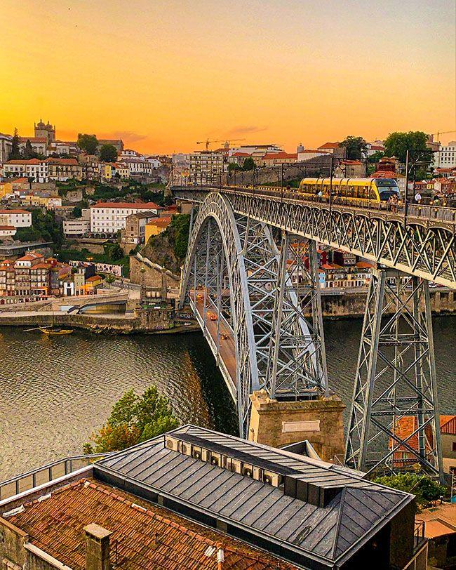 Miradores de Oporto: mirador de puente de Dom Luis