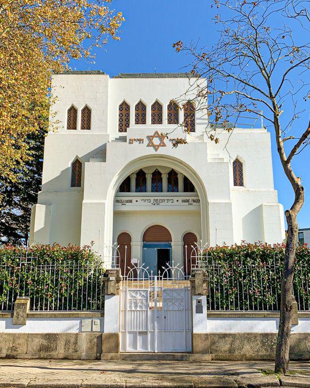 Curiosidades de Oporto: en Oporto está la sinagoga más grande de la Península Ibérica