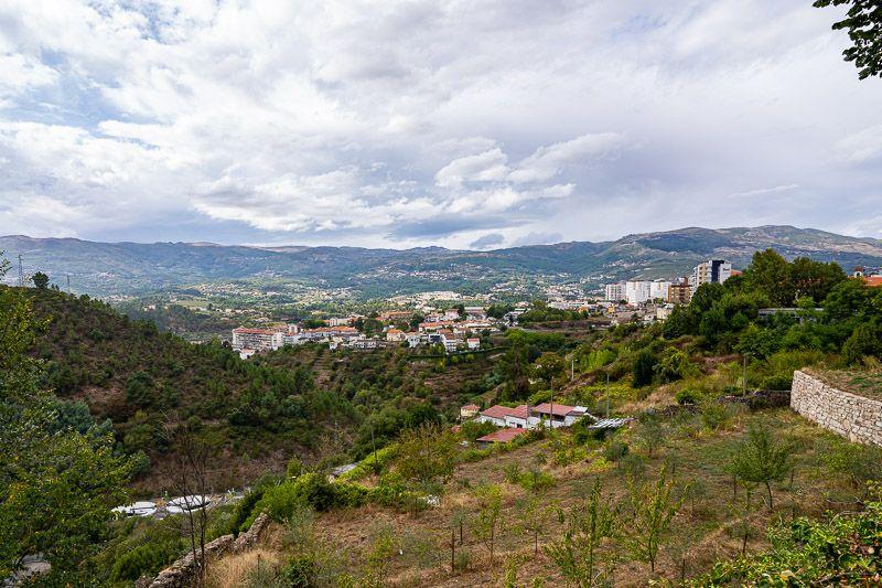Qué ver en Vila Real: miradouro da Vila Velha