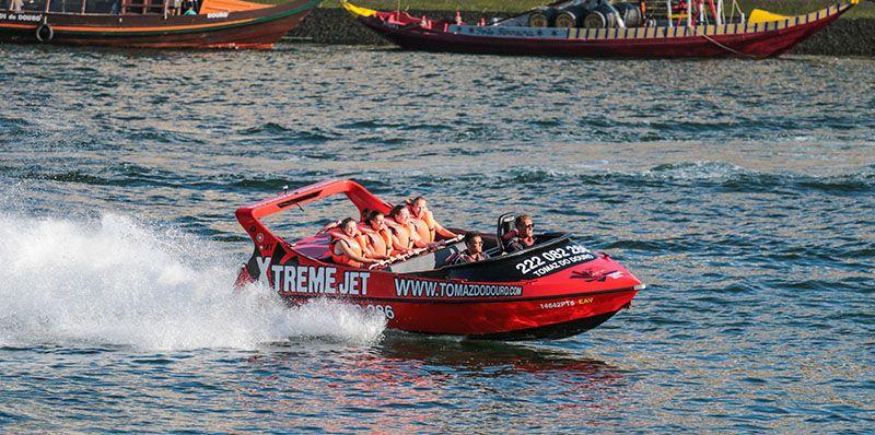 Qué hacer en Oporto cuando ya lo has hecho todo: disfrutar como un/a enano/a con el jet boat