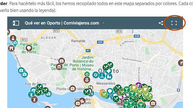 Cómo usar los mapas de Comiviajeros: así se guardan los mapas