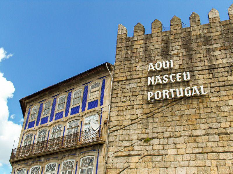 Qué ver en Guimaraes: Aquí Nasceu Portugal
