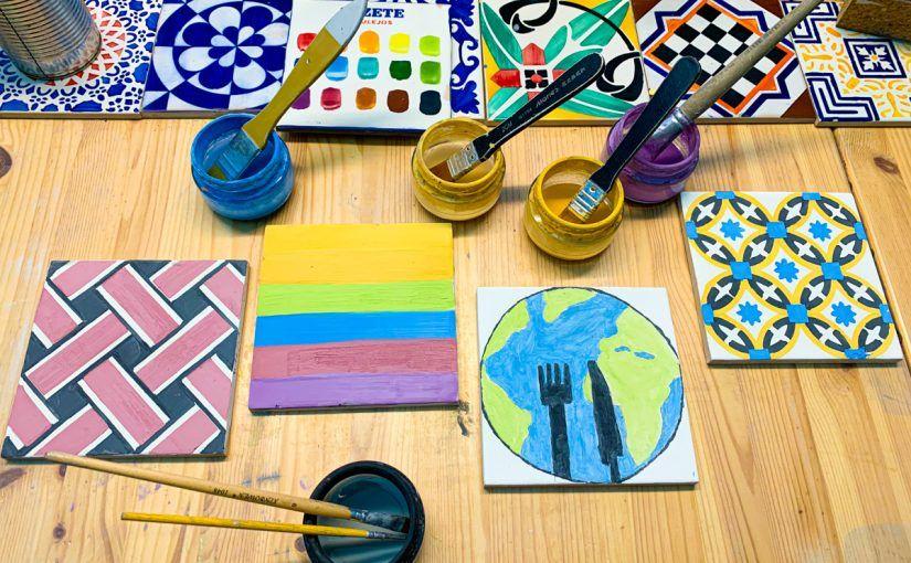 Qué hacer en Oporto cuando ya lo has hecho todo: asistir a un taller de pintura de azulejos