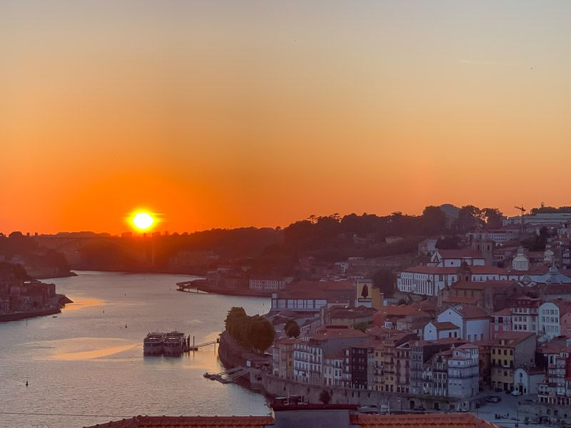 Miradores de Oporto: Jardim do Morro