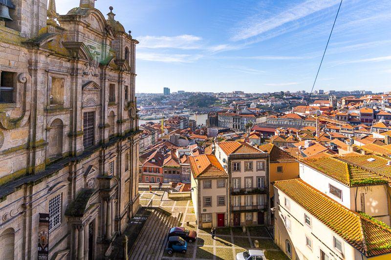 Miradores de Oporto: Miradouro da Rua das Aldas