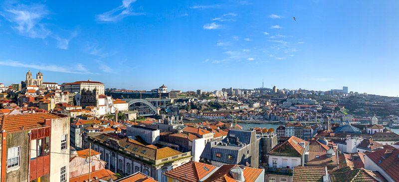 Miradores de Oporto: Miradouro da Vitória