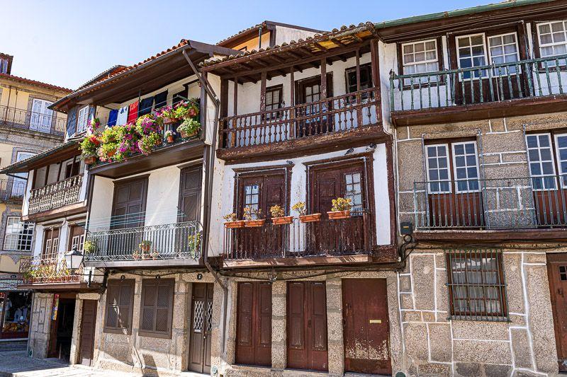 Qué ver en Guimaraes: casas típicas en Guimaraes