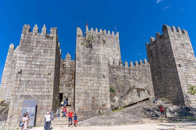 Qué ver en Guimaraes: castelo de Guimaraes