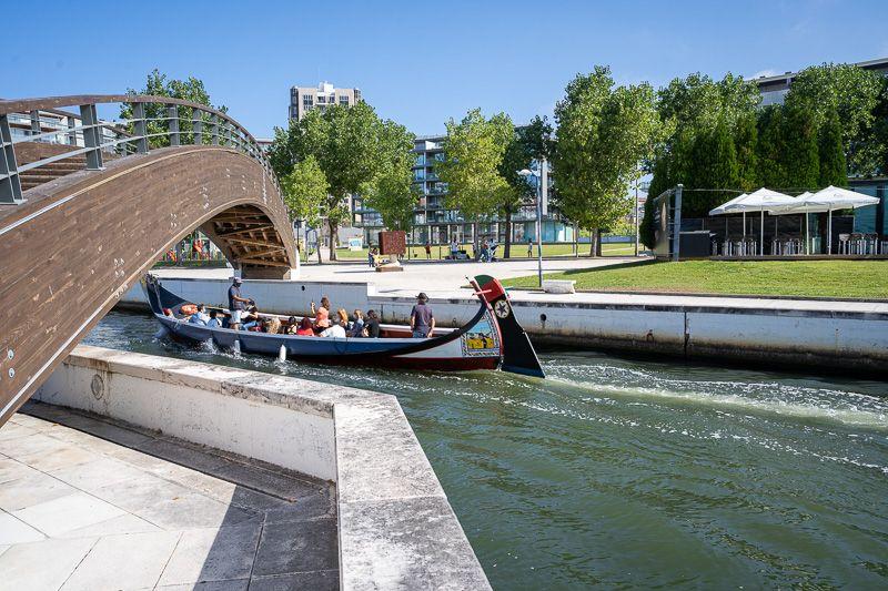 Qué ver en Aveiro: canales de Aveiro