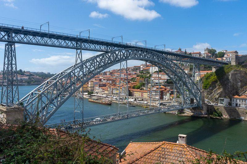 Miradores de Oporto: Mirador de Comiviajeros