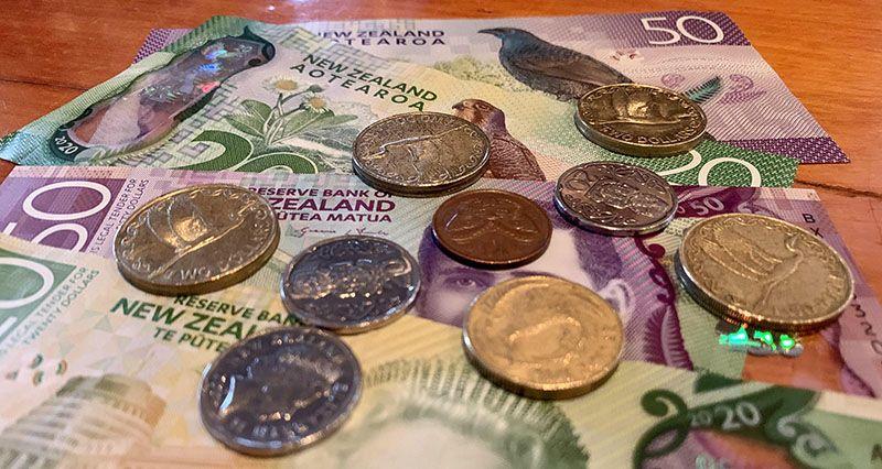 Moneda en Nueva Zelanda: así son las monedas y los billetes - cambiar dinero para viajar