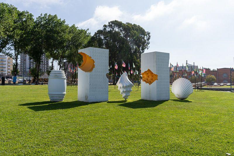 Qué ver en Aveiro: monumento a los ovos moles