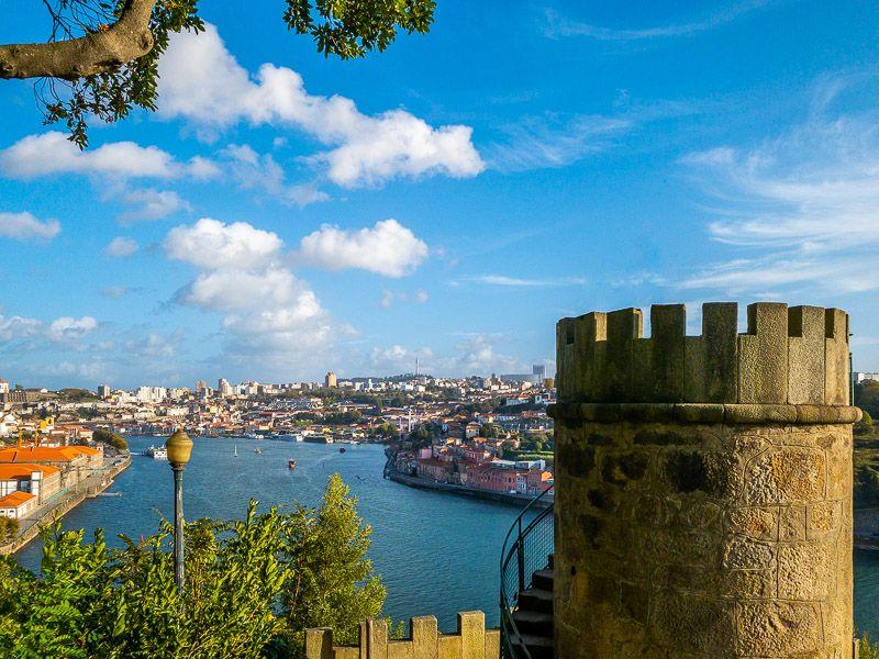 Miradores de Oporto: Jardines del Palacio de Cristal