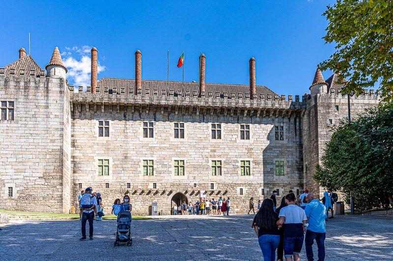 Qué ver en Guimaraes: palacio de los Duques de Bragança