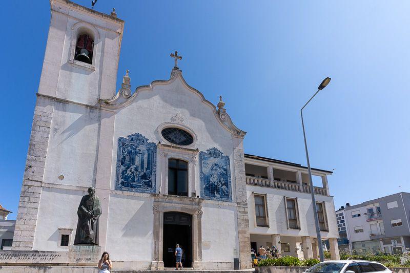 Qué ver en Aveiro: parroquia da Vera Cruz