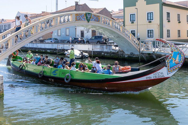 Qué ver en Aveiro: ponte dos Carcavelos