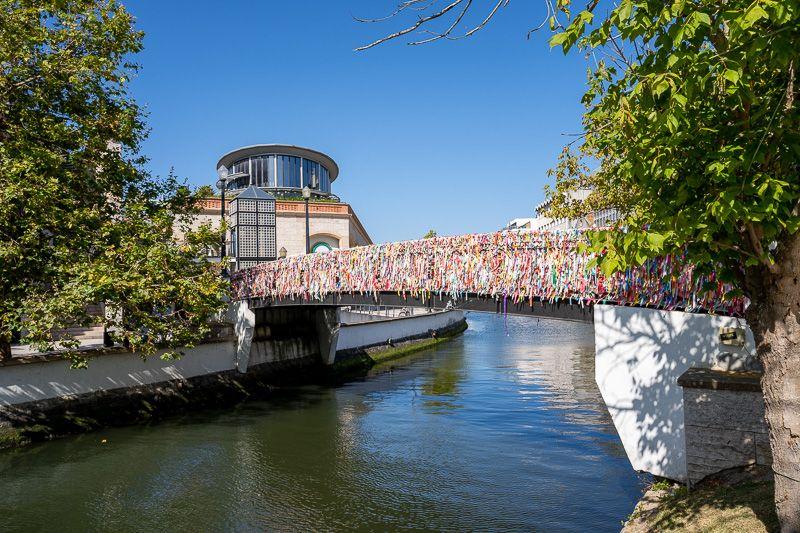 Qué ver en Aveiro: puente de los lazos de la Amistad