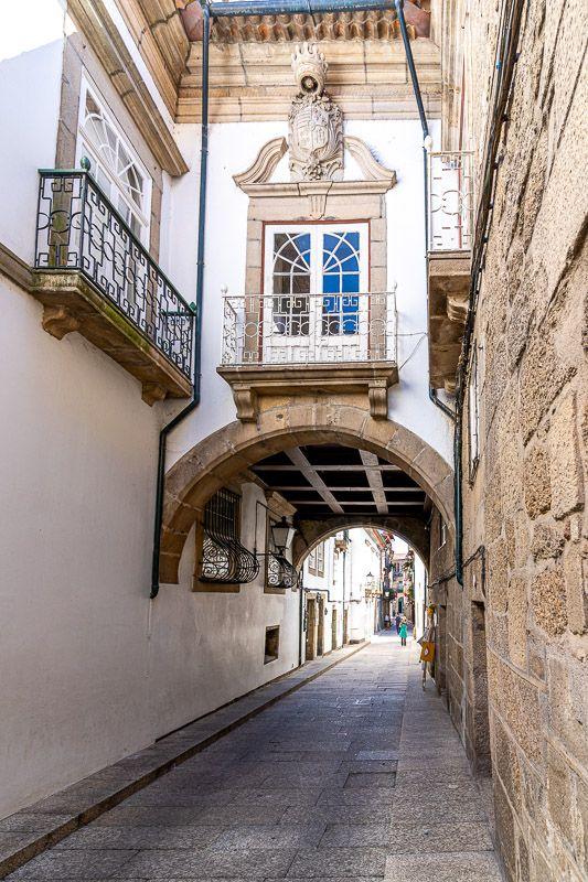 Qué ver en Guimaraes: rua de Santa Maria