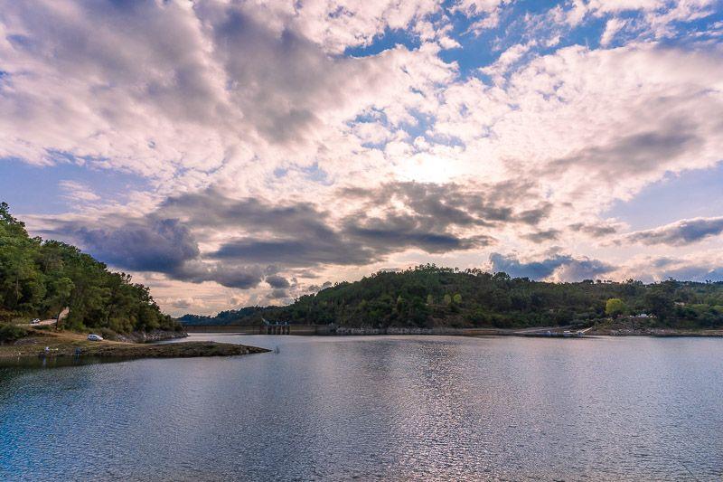 Etapa 3 de la ruta por la N2 entre Tondela y Serta: Barragem do Cabril