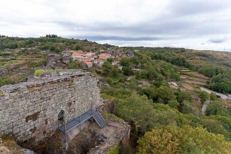 Etapa 1 de la ruta por la N2 entre Chaves y Peso da Régua: Castillo de Pena de Aguiar