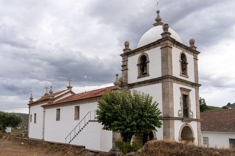 Etapa 1 de la ruta por la N2 entre Chaves y Peso da Régua: Sao Joao de Lobrigos
