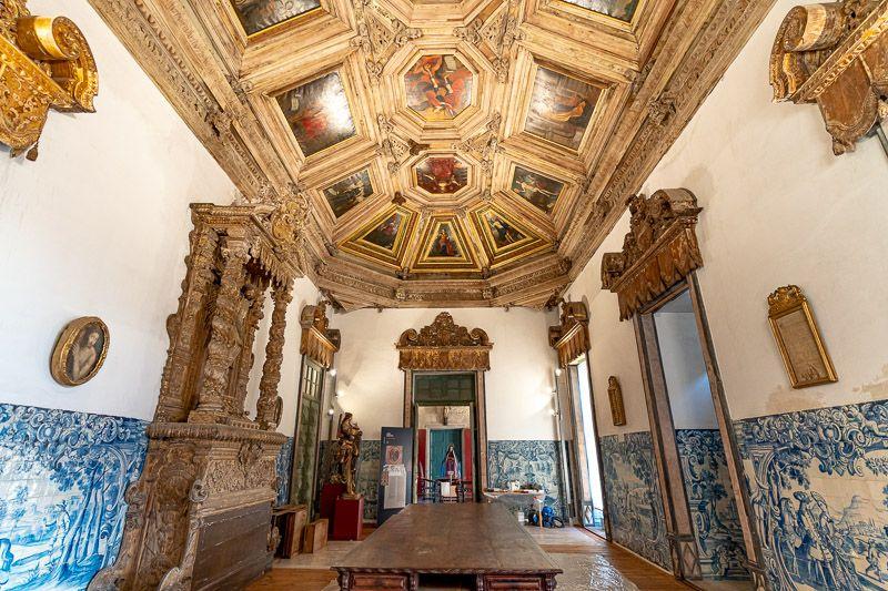 Visitar la catedral de Oporto: Sala Capitular