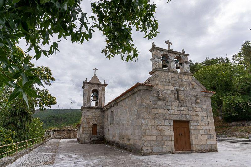 Etapa 1 de la ruta por la N2 entre Chaves y Peso da Régua: Igreja de São Martinho