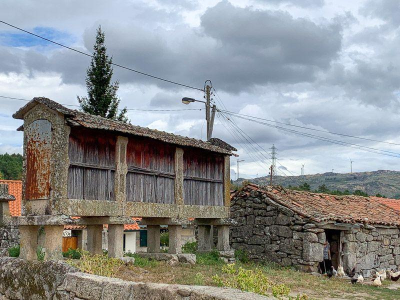 Etapa 1 de la ruta por la N2 entre Chaves y Peso da Régua: Vilarinho de Samardã