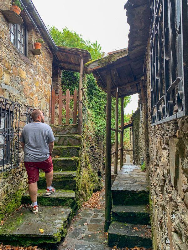 Etapa 3 de la ruta por la N2 entre Tondela y Serta: aldeas do Xisto