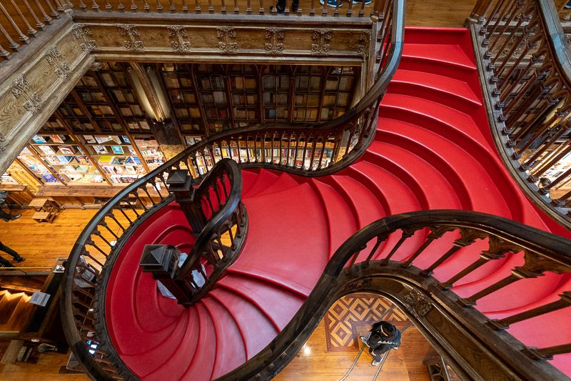 Visitar la librería Lello en Oporto en la actualidad