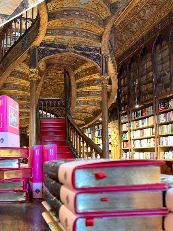 Visitar la librería Lello en Oporto, famosa gracias a Harry Potter