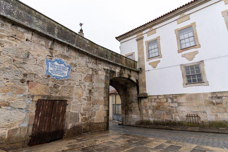 Qué ver en Viseu: Porta dos Cavaleiros