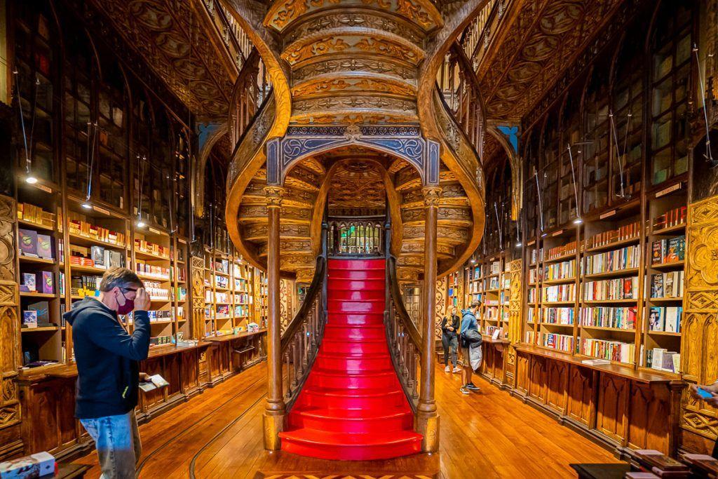 Visitar la librería Lello en Oporto - mapa de Oporto