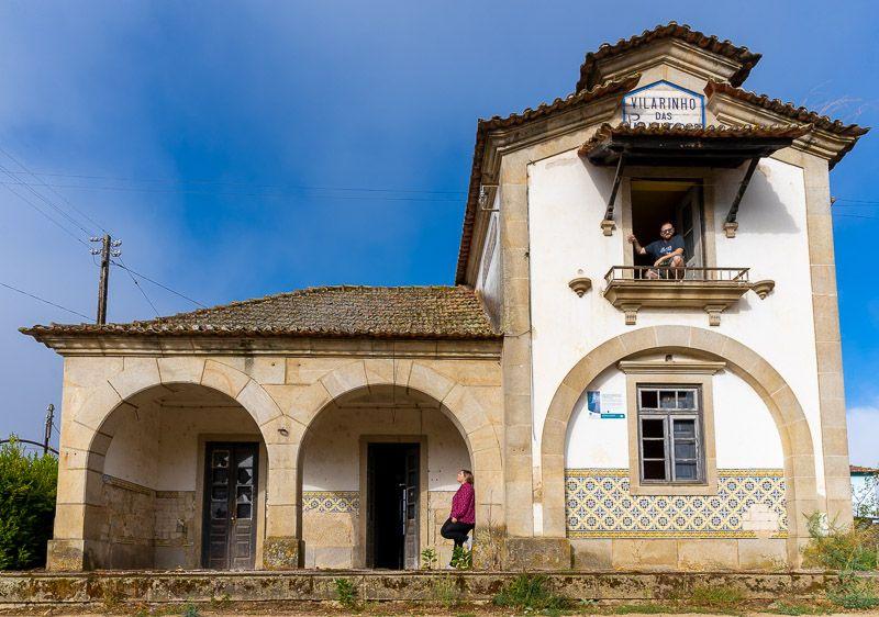 Etapa 1 de la ruta por la N2 entre Chaves y Peso da Régua: Vilarinho das Paranheiras