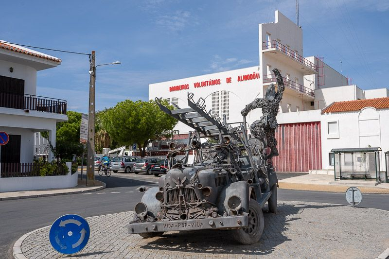 Etapa 5 de la ruta por la N2 entre Ferreira do Alentejo y Faro: Almodóvar