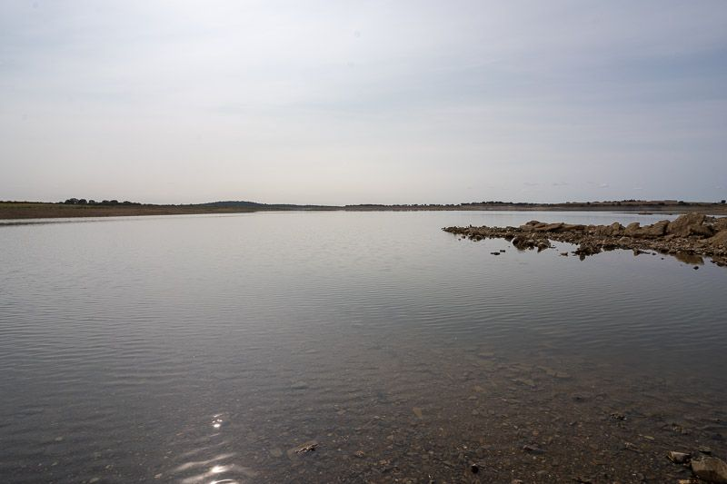 Etapa 5 de la ruta por la N2 entre Ferreira do Alentejo y Faro: Barragem do Roxo