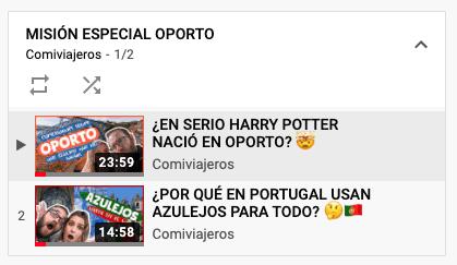 Misión Especial Oporto